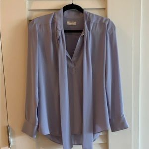 Aritzia long sleeve blouse with tie